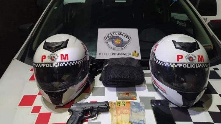 PM prende ladrões e recupera bens roubados na Granja Viana